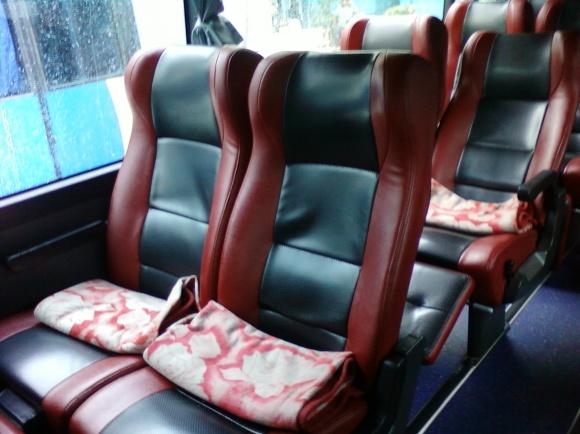 Interior dan Kursi PO Haryanto Kudus